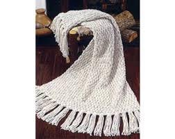 Afghan Knitting Patterns Custom Moss Stitch Afghan Knit Lion Brand Yarn