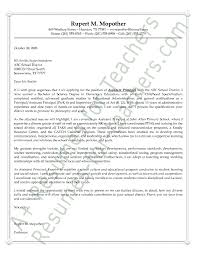 Assistant Principal S Cover Letter Example Assistant Principal