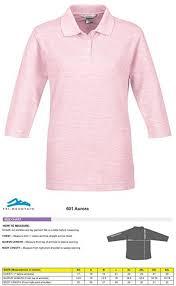 Tri Mountain Womens 3 4 Sleeve Pique Knit Golf Shirt Polo