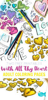 Color These Free Printable Adult Coloring