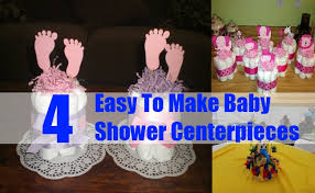 Easy To Make Baby Shower Centerpieces. A baby shower is a very joyous event  that celebrates the coming of the new baby into the family.