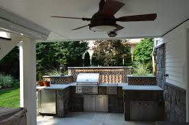 Outdoor Kitchen Countertops Kitchen Awesome Outdoor Kitchen Grill Island Designs With Grey