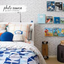 Grey cube pattern removable wallpaper ...