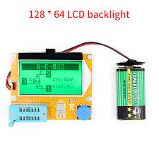 <b>High Quality Brand New</b> LCR T4 ESR Meter Transistor Tester Diode ...