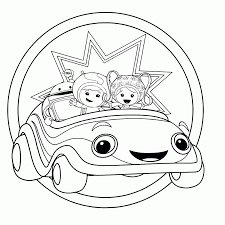 Free Team Umizoomi Coloring Pages Printable Coloring Home