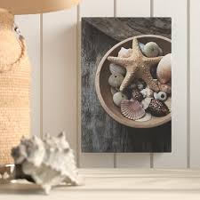 Seashell Collection Photographic Print On Canvas