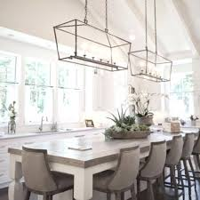 small kitchen chandelier glamorous table crystal over island glass chandeliers and grey chairs chandeli