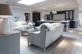 contemporary country furniture. Soft Chalky Contemporary Country Living Kitchen Open Plan Space || Sims Hilditch Design Studio At The White Hart Furniture F