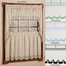 Kitchen Valances Kitchen Curtains Window Treatments Touch Of Class