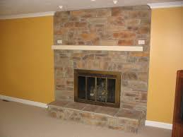 ideas for trim around brick fireplace