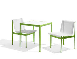 lime green patio furniture. 1966 Collection Dining Armless Chair Square Table Lime Green Richard Schultz Patio Outdoor Furniture N
