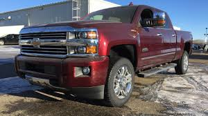 All Chevy chevy 2500hd high country : New 2017 Chevrolet Silverado 2500HD High Country / Red, Crew Cab ...