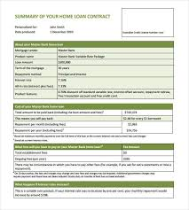 Agreement Letter For Loan Inspiration 48 Loan Contract Templates DOC PDF Free Premium Templates