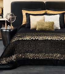 Lovable Black And Gold Bedroom and Luxurious Look With Black Gold ...
