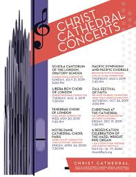 Christ Cathedral Concerts Christ Cathedral Music