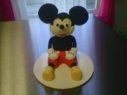 Mickey Mouse 1st Birthday Cake Classic Style Mickey Mouse