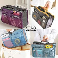 travel insert organizer handbag purse large liner womanlady makeup organiser bag ebay
