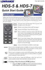 Lowrance Electronic Lowrance Hds 7 Users Manual Manualzz Com