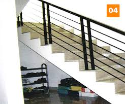 Hasil gambar untuk model tangga besi dan stainless minimalis