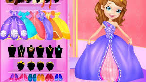 disney princess sofia makeover video plays games dress princess wedding dress up games