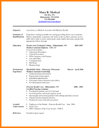 Certified Medical Assistant Resume Samples 60 certified medical assistant resume letter signature 37