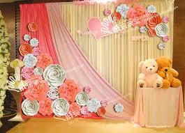 Paper Flower Wedding Decorations Paper Flowers Decorations Wedding Mofohockey Org