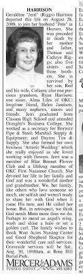 Geraldine (Riggs) Harrison - Obituary - Newspapers.com
