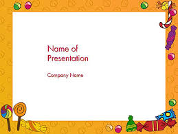 Candy Frame Free Presentation Template For Google Slides