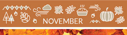 november calendar header gardeners almanac monthly gardening tips