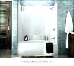 maax tub shower enclosures sliding door parts ma tubs showers