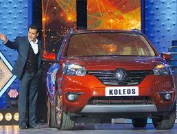 new car launches of 2014 in indiaRenault launches new Koleos Salman Khan gets the first car