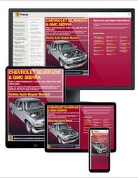 Chevy & GMC Full-size Pick-ups (99-06) Haynes Online Manual ...