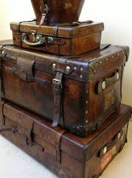 vintage luggage. i own so many steamer trunks and vintage luggage, don\u0027t know what luggage