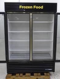 true 2 door glass door merchandiser freezer gdm 49f ld 115
