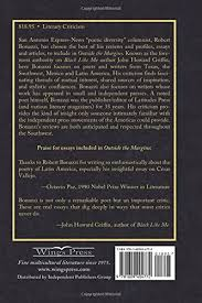 amazon com outside the margins literary commentaries  amazon com outside the margins literary commentaries 9781609404772 robert bonazzi books