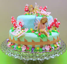 Fairy Birthday Party Decorations Fairy Cake Topper Google Search Fairy Bday Party Pinterest