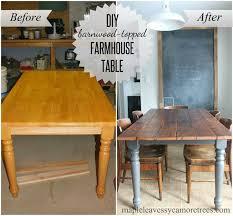 maple wood dining room table. diy barnwood table maple wood dining room