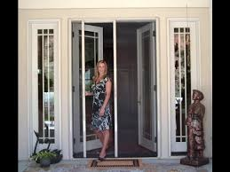 awesome storm doors for sliding patio doors retractable screen door retractable screen door for sliding