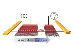 detect spin precession in silicon nanowires researchers detect spin precession in silicon nanowires schematic