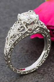 White Gold Rings Shop White Gold Rings  Macyu0027sCountry Style Promise Rings