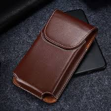 kisscase mobile belt universal case for iphone 7 8 x xs business leather phone pouch