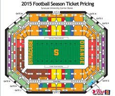 Syracuse Football Dome Seating Chart 13 Best Syracuse Football Images Syracuse Football