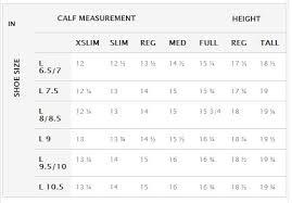 Tredstep Size Charts