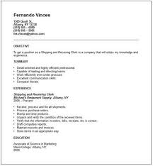 return from shipping receiving resume toshipping and receiving resume sample related