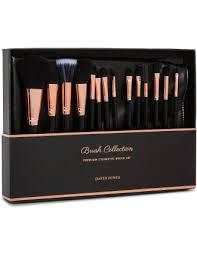 14 premium cosmetic brush set