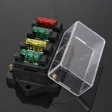 aliexpress com buy hot 12v 24v 4 way car truck auto blade fuse hot 12v 24v 4 way car truck auto blade fuse box holder circuit standard ato