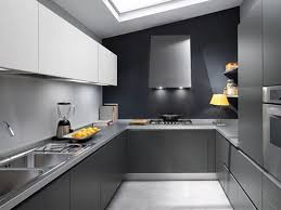 modern kitchen designs. Modern Kitchen Design With Elegant Gray Designs D