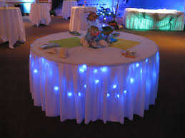 beach inspired lighting. Beach Inspired Party | Themed Tables Cool Because It Seems Whenever I Embellished . Lighting