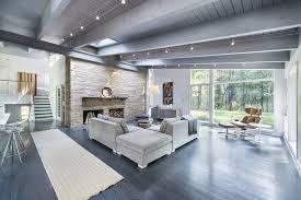 Mid Century Modern Living Room Mid Century Modern Living Room Curtains