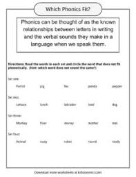 Phonics reading sentences worksheet pack for an en in og un word family. Phonics Table Worksheets Examples Definition For Kids